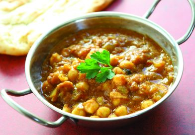 Fragrant Chickpea with Dates