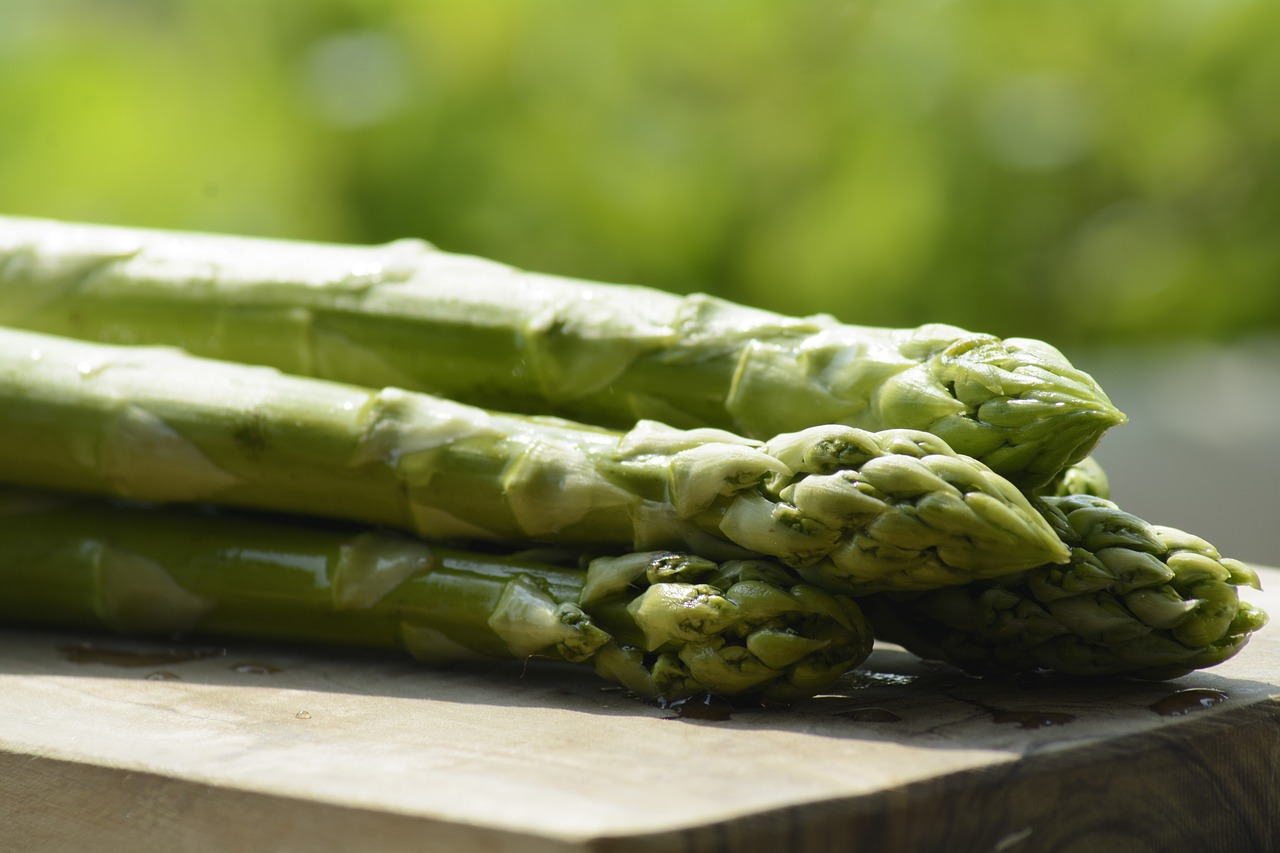 Asparagus with Parmesan and Sea Salt