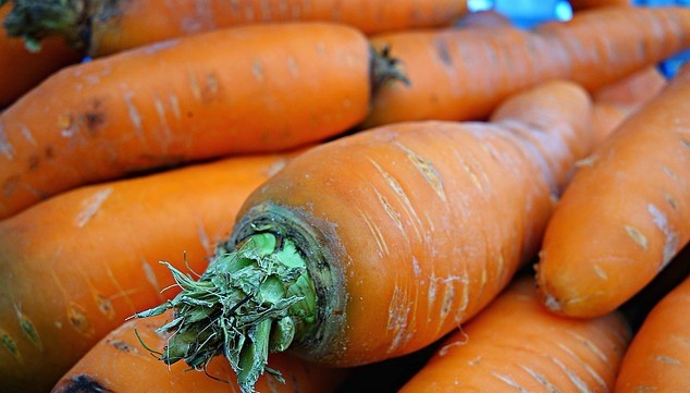 carrots for Vitamin A