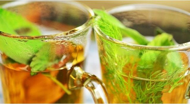 mint and fennel tea